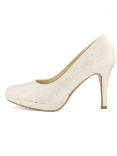 Lace wedding shoes, bridal designer shoes